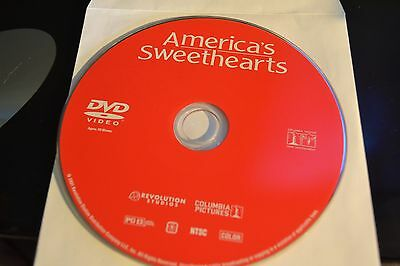 Americas Sweethearts (DVD, 2001)Disc Only Free Shipping 2-84