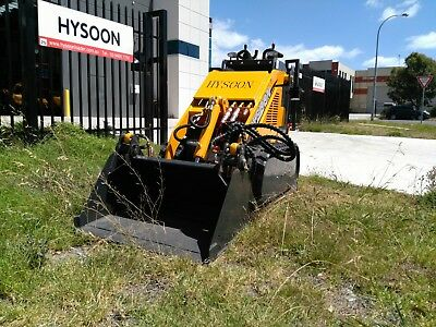4 in 1 Bucket 850mm suits mini diggers mini loaders including Kanga Dingo Toro