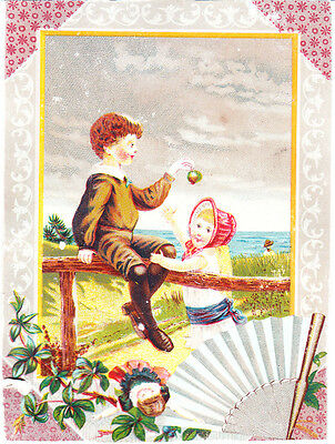 1890s Victorian Trade Card~ Stimson's Sudsena Washing Powder