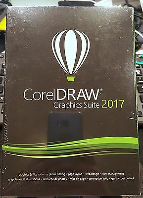 Genuine Corel DRAW CorelDRAW Graphics Suite 2017 Full Retail Version with Media