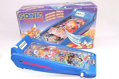 Sonic the hedgehog pinball with BOX Fully working! Vintage toy