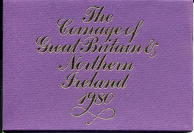 Coinage of Great Britain and Northern Ireland 1980 Proof Set