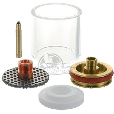 """CK D2GS116LD Gas Saver Kit for 1/16"""" Large Diameter w/Glass Cup"""