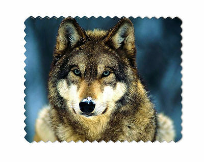 Wolf Microfibre Lens Glasses Cleaning Cloth