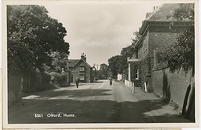 HUNTINGDONSHIRE-OFFORD -RPPC-UNPOSTED-hoch5