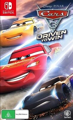 Cars 3 Driven To Win Nintendo Switch (PAL) New!