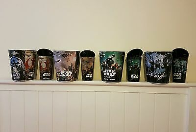 Star Wars Rogue One Limited Edition Popcorn Tins & Cups, Full Set, Brand New