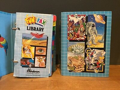 Fun Fax Library 2 Folders With 22 Books Vintage Henderson 1990s