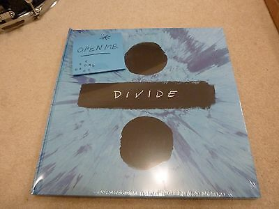 Ed Sheeran Divide Box Set Blue Vinyl Book CD and Charm