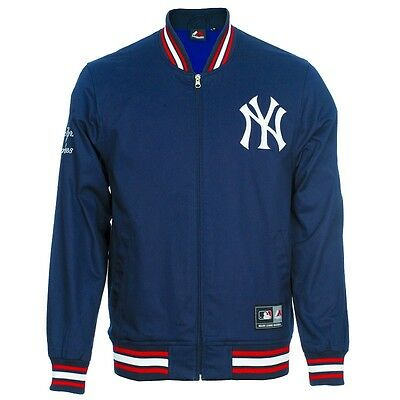 GIUBBOTTO NEW YORK Yankees Majestic Athletic Maglia Shirt Casual ... b6fc5362ab3a