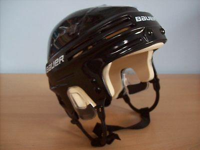 Helmet Bauer 4500 Ice Hockey Helmet Black Size Small 54 to 56 cm New and Boxed