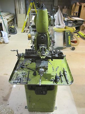 Centec 2A vertical milling machine 240V 1 Phase + Clarkson auto chuck +cutters