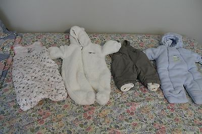 Lot of 4 Cozy Jackets/Outerwear For Baby