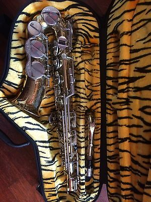 Alto sax saxophone B & H 400 Boosey and Hawkes signed Andy Sheppard