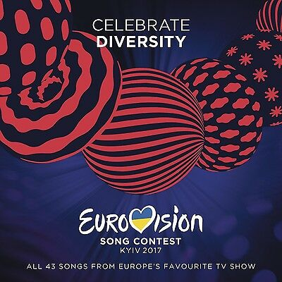 Eurovision Song Contest-Kiew 2017  (Blanche, Naviband, Alma, ...) 2 Cd New+