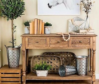 Tobacco Baskets - Small and Large Set Farmhouse Country DECOR