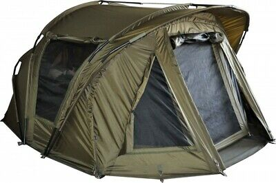 MK Angelsport Angelzelt  Fort Knox Air 2 Mann Zelt Bivvy Karpfenzelt
