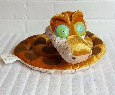"Jungle Book Kaa the Snake 45"" Glow in the Dark Eyes Stuffed Animal Plush   (A20)"