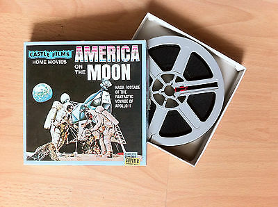 America On The Moon NASA Footage Apollo 11 Super 8 Film mm Castle Films