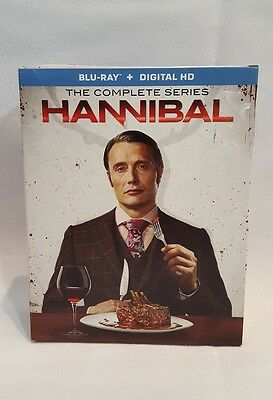 Hannibal: The Complete Series (Blu Ray, 2016, 7-Disc Set)