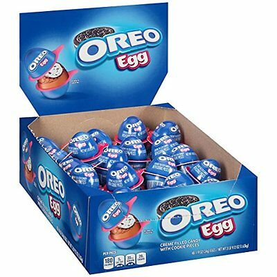 Oreo Milka Chocolate Candy Eggs with Cream and Cookie Bits, 48 Count