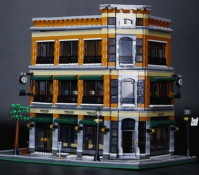 Starbucks Coffee Bookstore - compatibile lego creator 100% - Nuovo