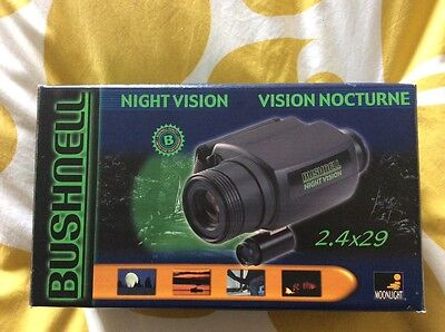 Bushnell Night Vision monocular with zoom
