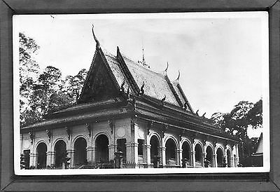 INDOCHINA VIET-NAM Cochinchine  - A Pagoda in the vicinity of Tra-Vinh- 1950's