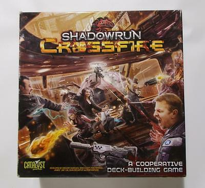 Shadowrun Crossfire Game RPG Out Of Print Missing 2 Tokens 2014