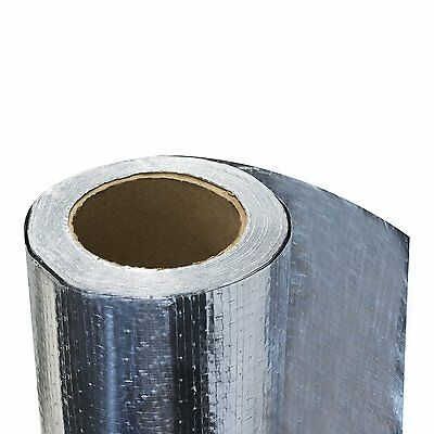 Heavy Duty Radiant Barrier Insulation Ultima Attic Foil 1000 Sqft 4' perforated