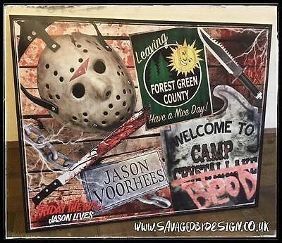 Friday The 13Th Part 6 - Jason Lives Wall Display Plaque
