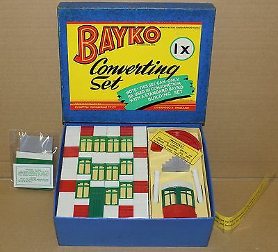 Original 1959 Bayko Building Converting Set 1X Boxed. Excellent Condition.