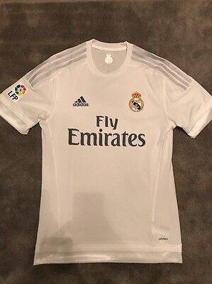 Real Madrid 15/16 Home Shirt Adizero Player Issue (Rare)