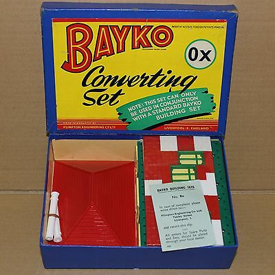 Original 1958 Bayko Building Converting Set 0X Boxed. Excellent Condition.