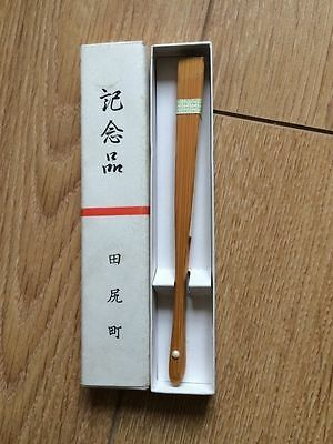 Original Japanese Bamboo Fan 15cm
