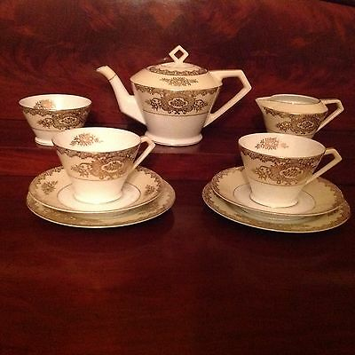 "Noritake ""Tea for Two"" Tea set - Art Deco"
