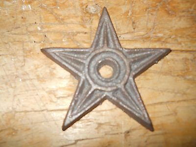 175 Cast Iron Stars Architectural Stress Washer Texas Lone Star Rustic Ranch
