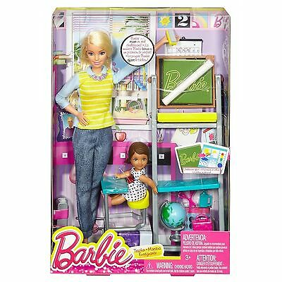 Barbie Careers Teacher Doll and Student Doll School Playset *** MATTEL ***