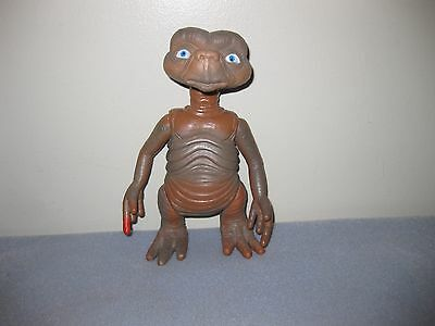 Vintage Plastic E.T. Extra Terrestrial Figure 20cm tall