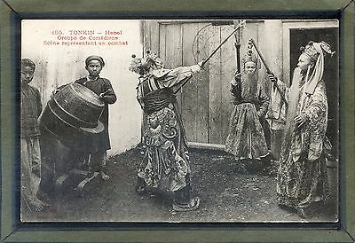 INDOCHINA Hanoi - Theater of Vietnam comprises traditional -1900's