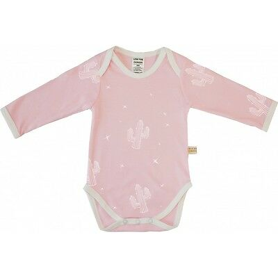 BNWT Cactus Long Sleeve Bodysuit Pink Size 000 (baby newborn clothes boy girl)