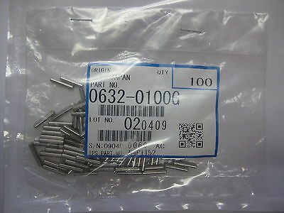 Ricoh 0632-0100G, 06320100G, Parallel Pin / M2x10, Package of 100 pin, Genuine