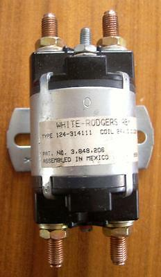 White Rodgers 100A DC Contactor 24V DC Coil. Electric Vehicle - Forklift - Winch