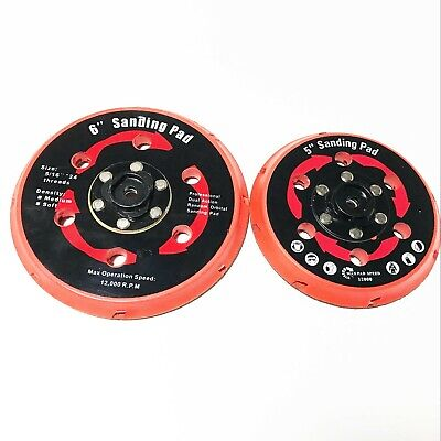 "6"" Dual Action DA Polisher Backing Plate Sanding Pad for DAS-21E  rupes machine"