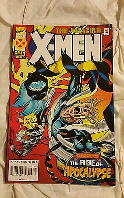 The amazing X-Men Comic Book Apr #2 Deluxe after xavier age of apocalypse