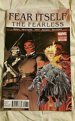 Fear Itself The Fearless Marvel Comic book #8 of 12 Limited Series