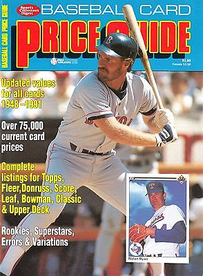 Baseball Card Price Guide 1991 / Krause Publications (Very Good Condition)