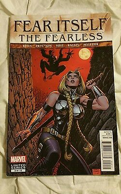 Fear Itself The Fearless Comic Book # 2 of 12 Limited Series