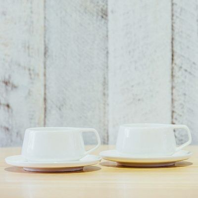 NEW Marc Newson Cup & Saucer Set Coffee Tea Accessories
