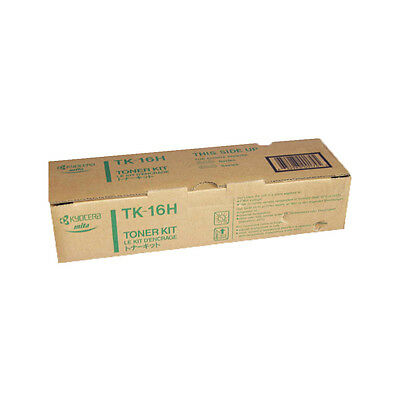 Kyocera Toner TK16H K Black Genuine Toner New